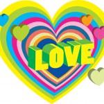 Valentine's decoration heart — Vetorial Stock