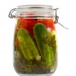 Canned Vegetables — Stock Photo #1708612