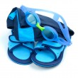 Child Swimming Set — Stock Photo