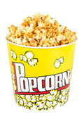 Big Popcorn Bucket — Stock Photo