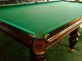 Billiards Table — Stock Photo