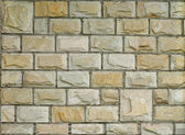 New Decorative Brick Wall — Stock Photo