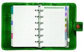 Green Organizer — Stock Photo