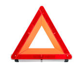 Red Emergency Sign — Stock Photo
