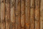 Old Log Wall — Stock Photo