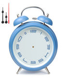 Blue Alarm-Clock — Stock Photo