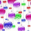 New Year's ball background — Stock Photo