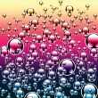 Many-coloured bubble drop ball — Stock Photo #1712579