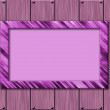 Violet frame wall background — Stock Photo