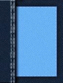 Fundo de costura de jeans — Foto Stock