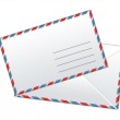 Envelope cover background — Stock Photo