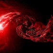 Red star background abstract — Stock Photo #1902994
