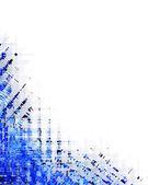 Modré bílé pozadí — Stock fotografie