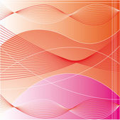 Red line background vector — 图库照片