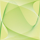 Green line background vector — Stock Photo
