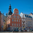 Old Riga. Latvia - Stock Photo