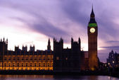 Big Ben and Parliament — Stock Photo