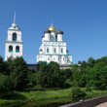 The Pskov Kremlin — Stock Photo #1914269