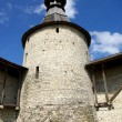 The tower of The Pskov Kremlin — Stock Photo