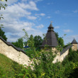 Wall of the Pechorsky monastery — Stock Photo