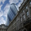 St Mary axe skyscraper — Stock Photo