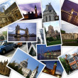 Famous places of London - Stock Photo