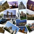 Famous places of London - Foto Stock