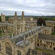 Oxford University`s All Soul`s College - Stock Photo