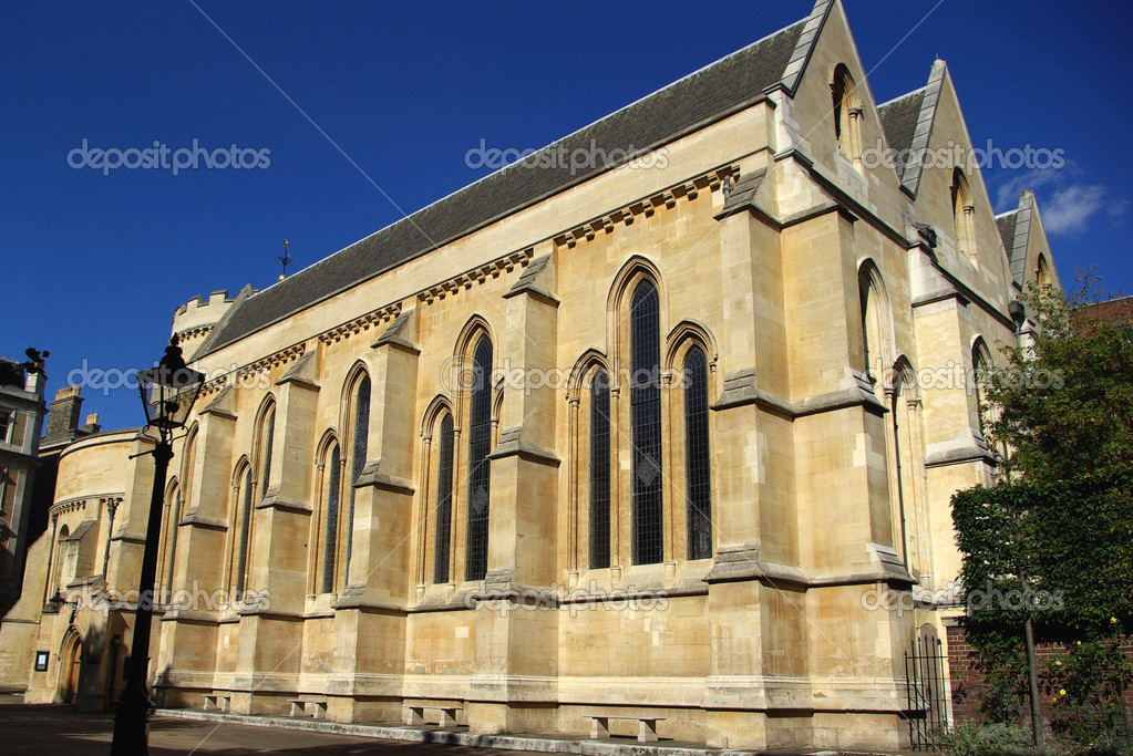 Temple Church - one of the oldest churches in London, UK   #2444891