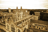 Oxford University`s All Soul`s College — Stock Photo