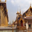 Wat Phra Kaeo in Bangkok - Stock Photo