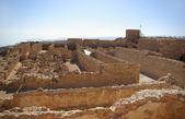 Ruins of warehouse in Masada fortress — Stock Photo