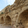 Ancient aqueduct — Stock Photo