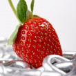 Stock Photo: Strawberry imaginations