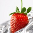 Strawberry imaginations — Stock Photo