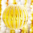 New Year's ornament — Stock Photo