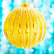 The big Christmas ball — Stock Photo