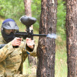 Paintball spelare — Stockfoto #2479536