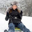 Stok fotoğraf: Have winter fun!