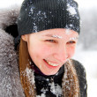 Stock Photo: Cold winter, cold snow