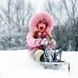 图库照片: Have winter fun!