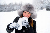 Feel a winterfresh! — Stock Photo