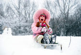 Have a winter fun! — Stock Photo