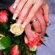 Wedding rings — Stock Photo #2557434