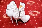 Bridal shoes — Stock Photo
