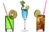 Cocktail em branco — Fotografia Stock