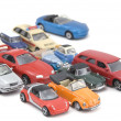 Model toy car closeup — Stock Photo