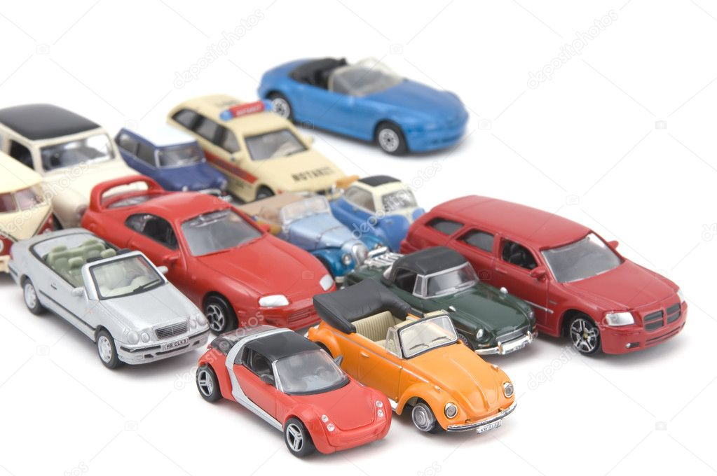 Object on white - model toy car — Stock Photo #1603632