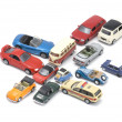 Toy car closeup — Stock Photo
