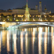 Royalty-Free Stock Photo: Moscow Kremlin and river